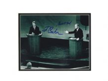 Jimmy Carter & Gerald Ford Autograph Signed Photo